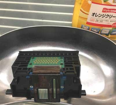 プリントヘッドの洗浄 Canonプリンター