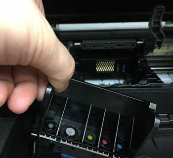 プリントヘッドの洗浄方法 MP610