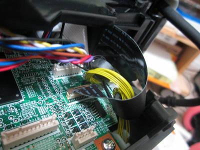 MP610 フィルム配線