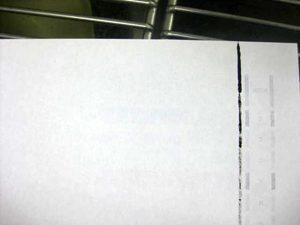 インク汚れ プリンター用紙