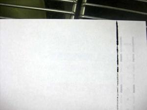 用紙の汚れ